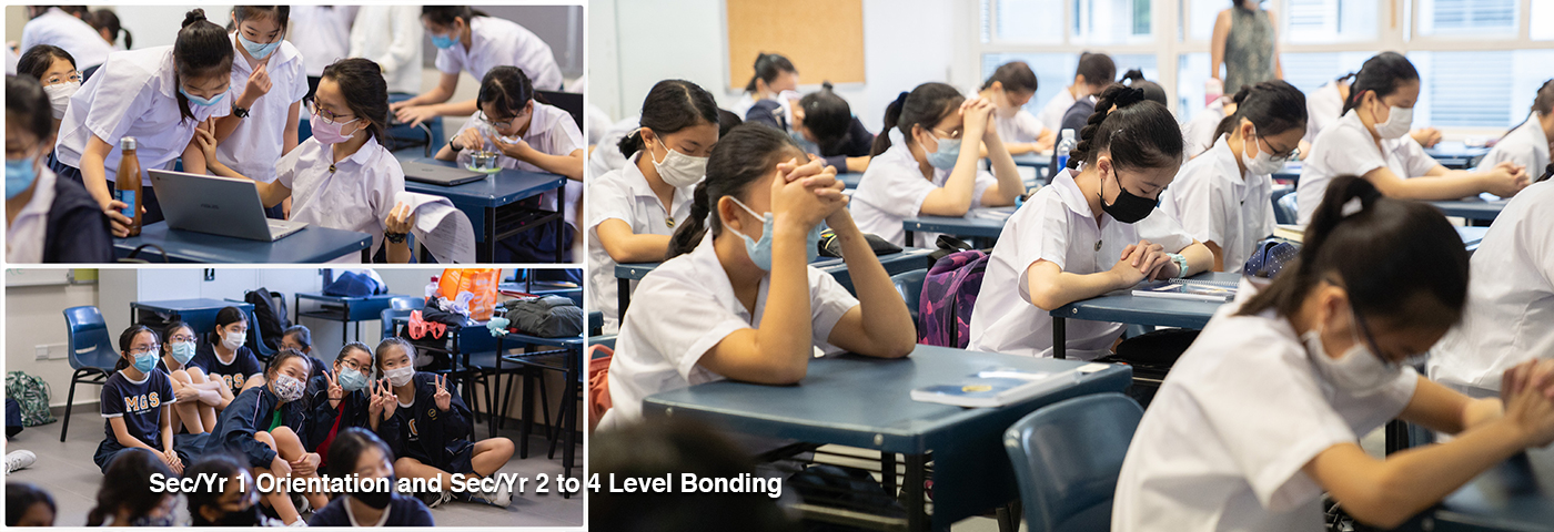 Sec/Yr 1 Orientation and Sec/Yr 2 to 4 Level Bonding